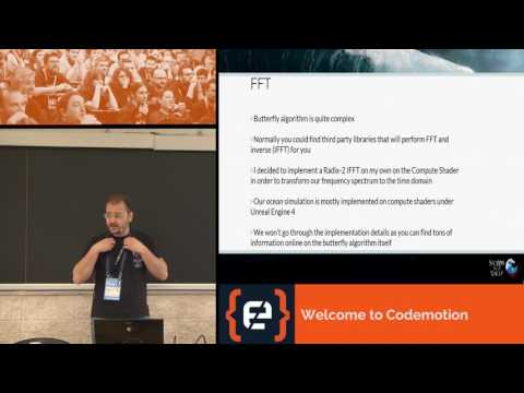 An introduction to Realistic Ocean Rendering through FFT - Fabio Suriano - Codemotion Rome 2017
