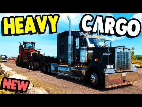 NEW MAP & Trucking COMPANY Hauling HEAVY CARGO | American Truck Simulator