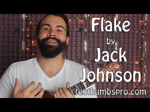 Flake - Jack Johnson - Easy Song Ukulele Tutorial