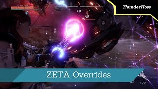 Horizon Zero Dawn - How To Override The Stormbird, Rockbreaker, And Thunderjaw (ZETA Overrides)
