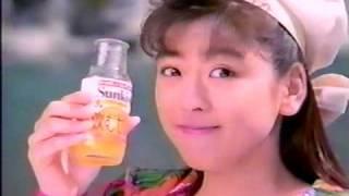 1989年頃 アイドル時代の中山忍さん.