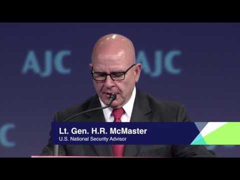 U.S. National Security Advisor Lt. Gen. H.R. McMaster