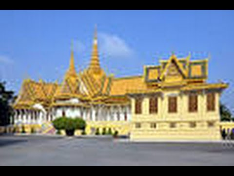 My Family holiday  in Front Royal Palace of Cambodia for The world,Canada , Australia And USA