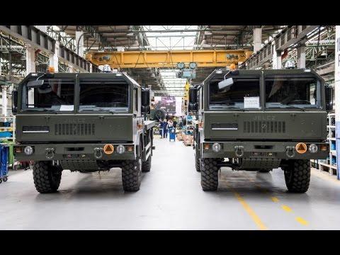 """Więcej ciężarówek dla wojska z jelczańskich zakładów, """"Fakty"""" 16.05.2017"""