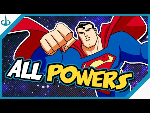 SUPERMAN or SUPER-WUSS? Every Power of the Animated Man of Steel!