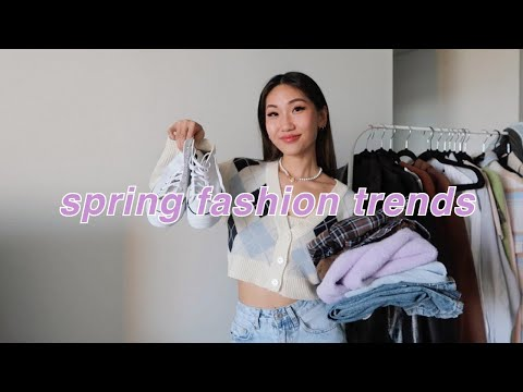 SPRING FASHION TRENDS 2021 🦋   casual spring outfits and trends!