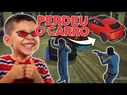 ROUB3I OS LADR0ES no GTA RP 2 😂 CRIANÇA IRRITANTE (Paulinho o LOKO)