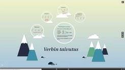 Ruotsin kielioppia: Verbin taivutus