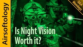 Is Night Vision Worth it & How to Get Friends to Play? | Airsoftology Mondays