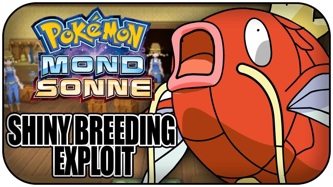 Shiny Breeding Exploit Swap Breeding Pokémon Ultrasonne Und