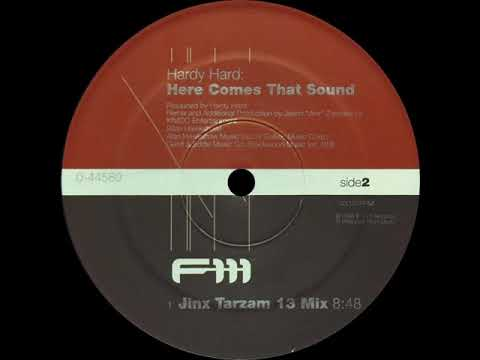 Hardy Hard - Here Comes That Sound ''Jinx Tarzam 13 Mix''   1080p   ©1998 F-111 Records