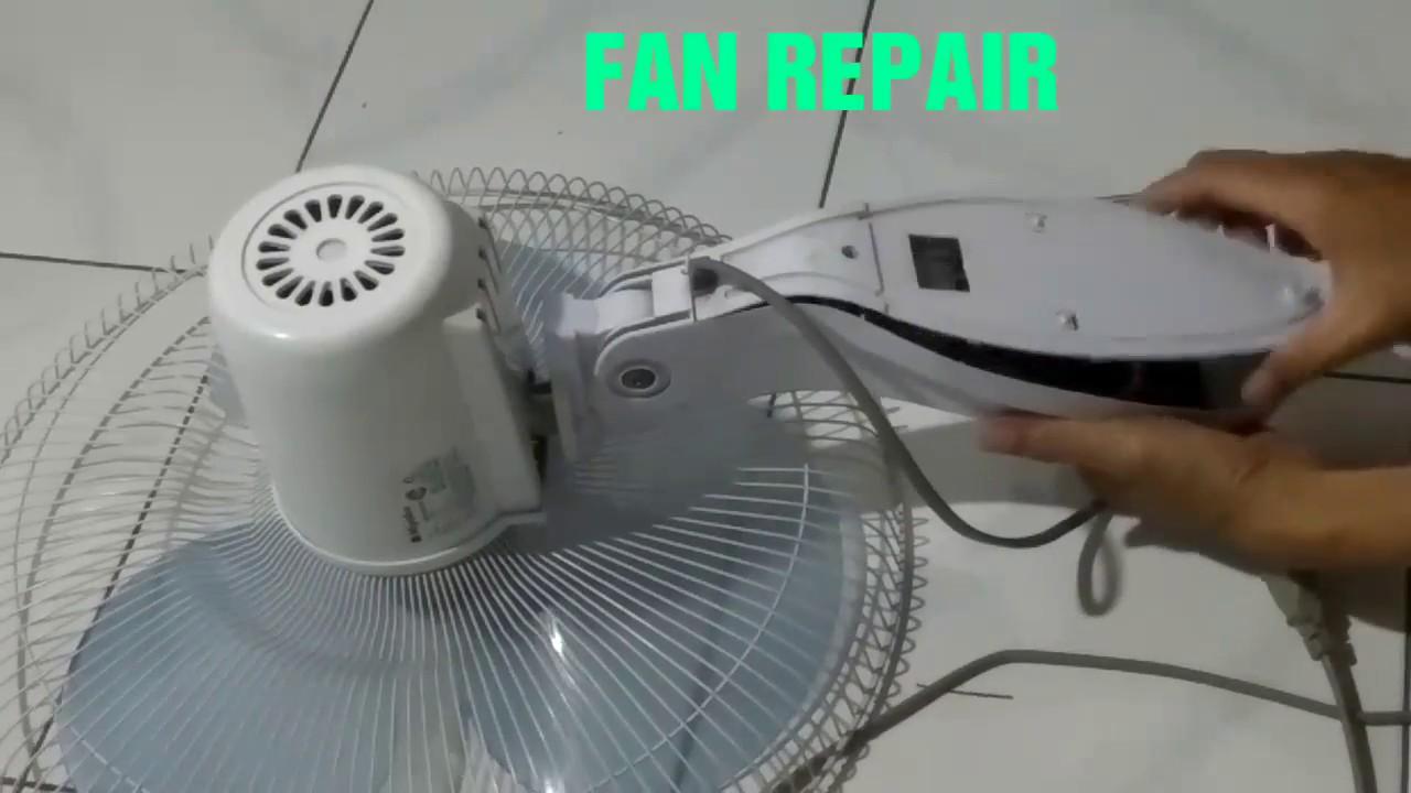 Cara Memperbaiki Kipas Angin Miyako Remote Dengan Mudah Youtube
