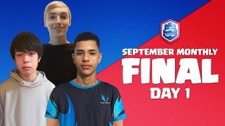 Clash Royale League 2021   September Monthly Final   Day 1