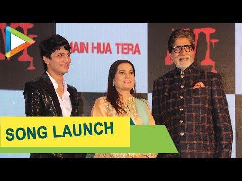 Amitabh Bachchan launches Aadesh Shrivastava's son Avitesh's song 'Main Hua Tera'  Jeetendra, Shaan