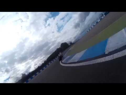 Donington Park GP - James Field #121 ZX6R TSGB Couple of onboard laps during practice.