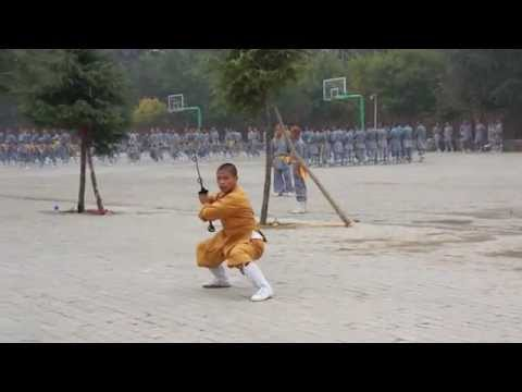 Shaolin Temple Kung Fu  Two Handed Broadsword
