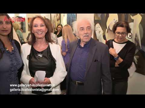"""Galleria """"Il Collezionista""""-Personale di Ulla Wobst"""