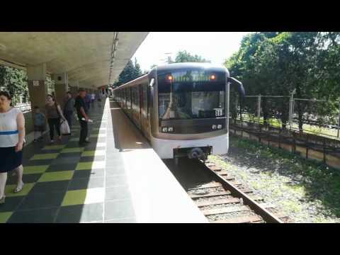 Tbilisi, Georgia metro in Didube station. Metro w Tbilisi w Gruzji, stacja Didube.
