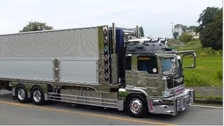 デコトラ 茨城アートトラック連盟 2012 由加丸 椎名急送 8番