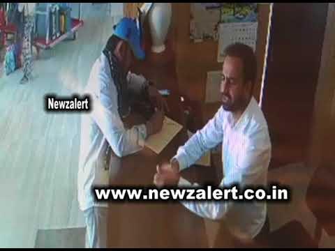 Exclusive CCTV shots of Major Gogoi in Hotel Grand Mamta Srinagar