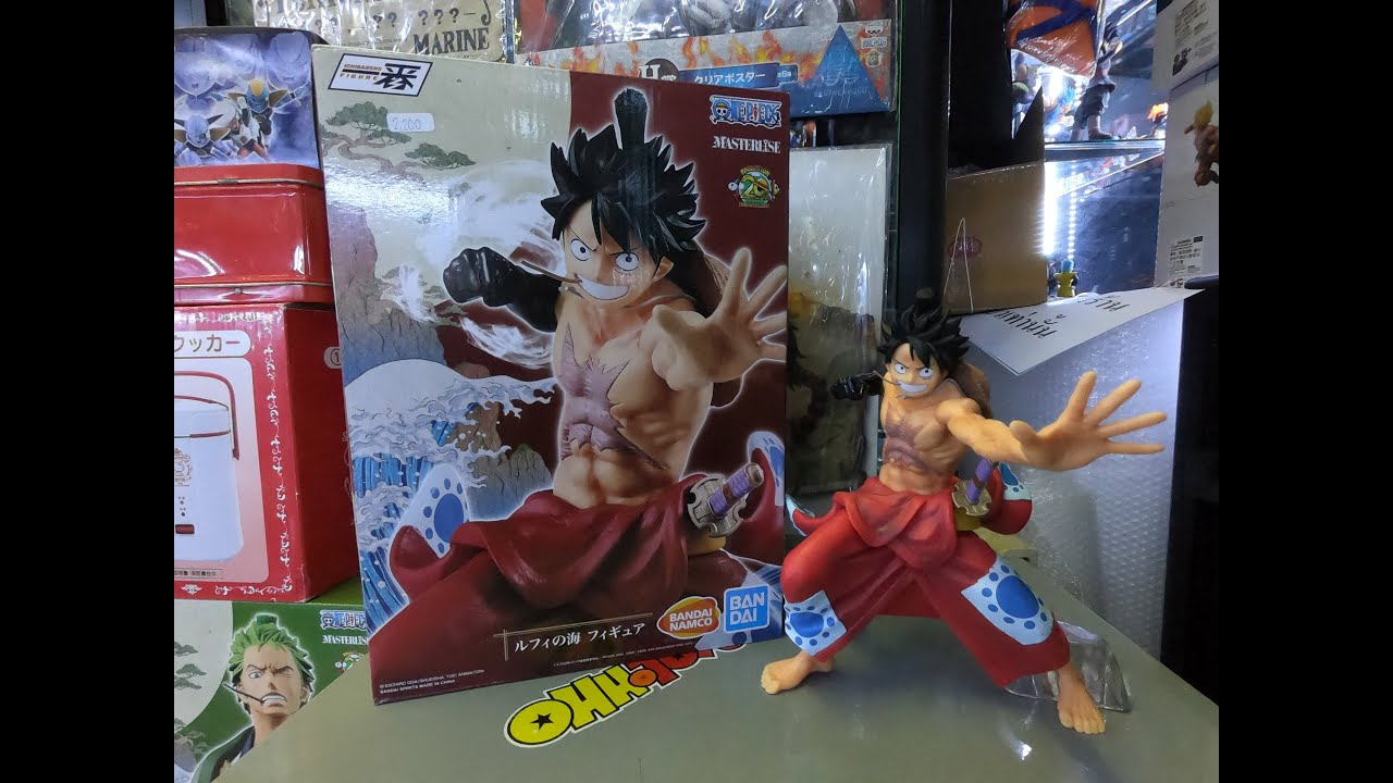 Monkey.D.Luffy Japanese Style One Piece Figure Toy