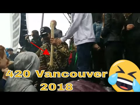 Half a pound of weed in this Giant Joint 420 Vancouver