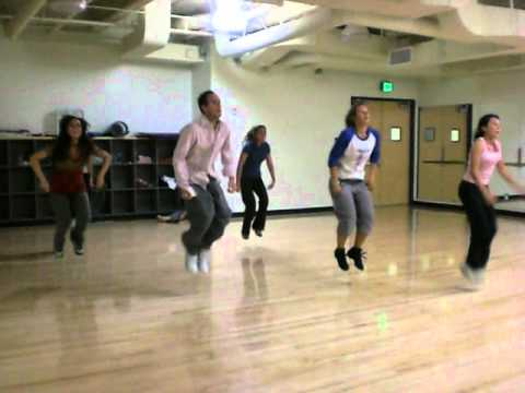 Get your a$$ on the floor: Cal Lutheran University class with Tari Mannello, Pitbull