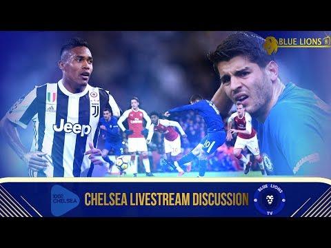 Blue Lions TV x 100pctChelsea x YounesHH    We talk Arsenal Chelsea, Morata & Chelsea Transfer News!