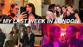 LAST WEEK IN LONDON VLOG | @Amalie Star comes to visit, my bestfriends birthday, GNO