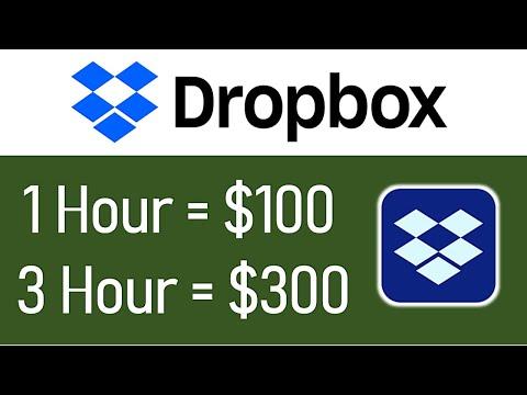 Earn $100-$300+ In 1 Hour From Dropbox?! (FREE) Worldwide Make Money Online | Branson Tay
