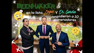 Beenhakker y Tuca en la lista, Zague y Dr. García despidieron a 10 entrenadores.
