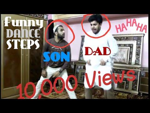 Dance On Bollywood Hindi Songs Very Funny Dance |MrShkAbdullah