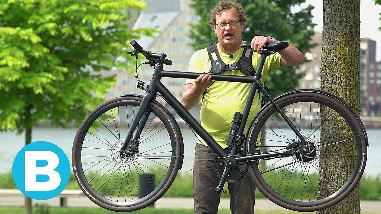 Lichte Elektrische Fiets : Aan deze lichte e bike zie je niet dat het een elektrische fiets