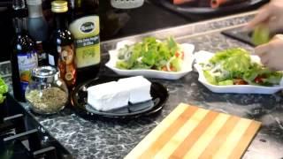 Греческий салат,рецепты!!!