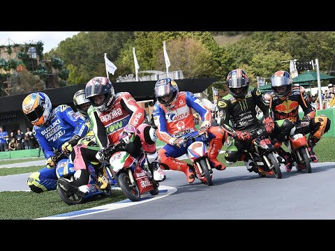 And the winner of the 2018 Minimoto GP championship is....