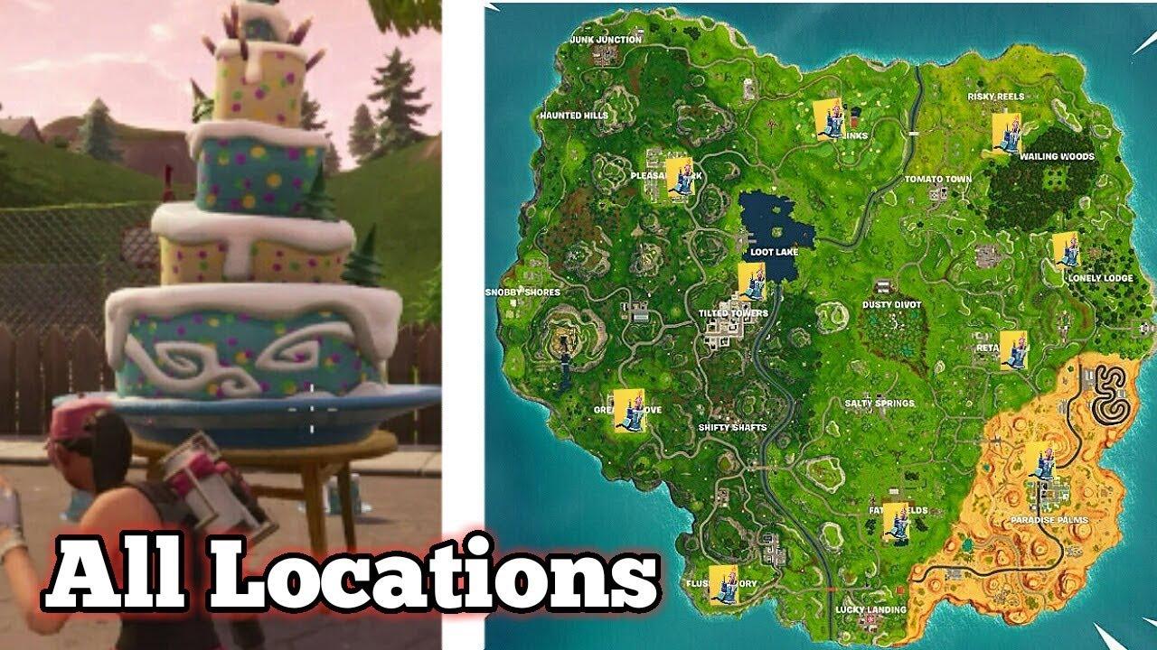 All Birthday Cake Locations