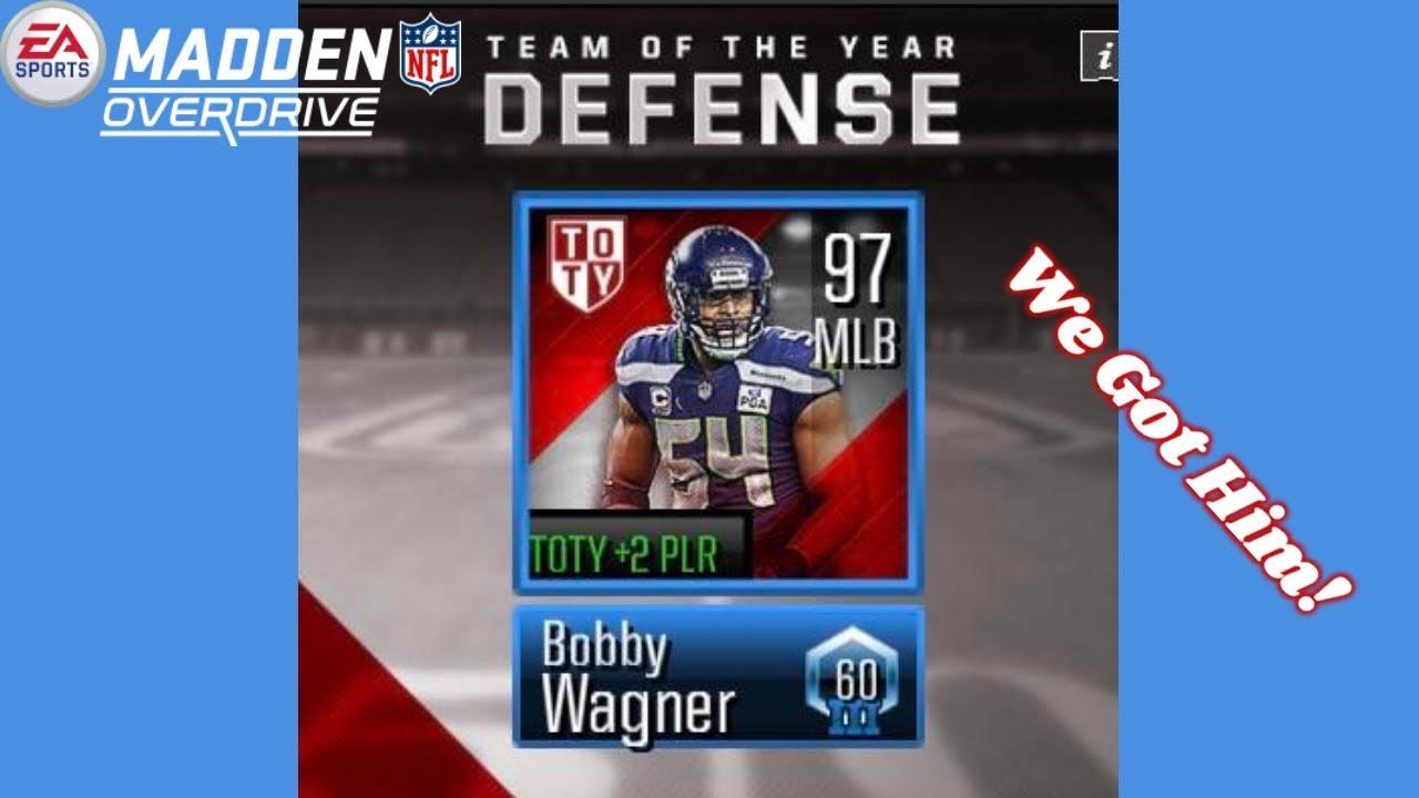 Bobby Wagner Pulled! Madden Overdrive 19