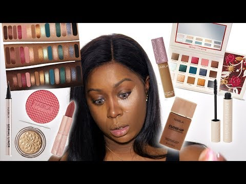 È ARRIVATO IL MOMENTO! PROVO A TRUCCARMI SOLO CON NABLA + SECRET PALETTE REVIEW ON DARK SKIN