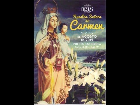 Fiestas del Carmen 2014. Puerto Espíndola de San Andrés y Sauces - 030814