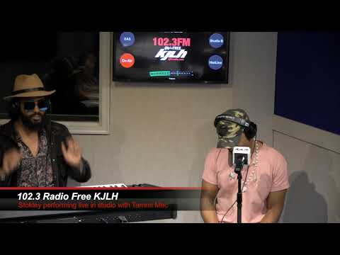 Stokley Blesses The Mic Live At 102.3 Radio Free KJLH + Talks Friendship With Kelly Price