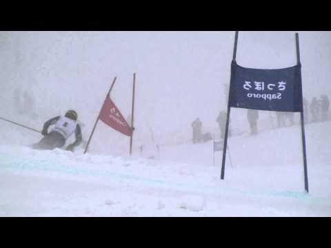 第92回全日本スキー選手権大会 男子GS 石井智也