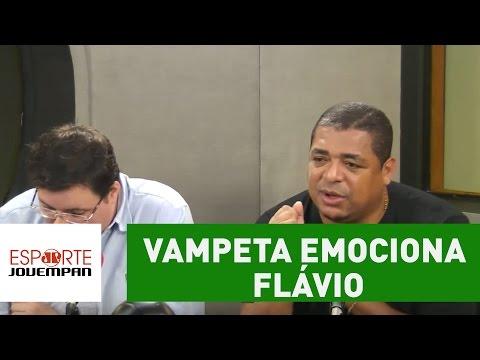 Vampeta oferece ajuda a 'gato' da Copinha e emociona Flavio Prado