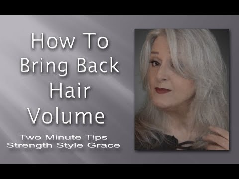 how-to-bring-back-hair-volume---fast-&-easy