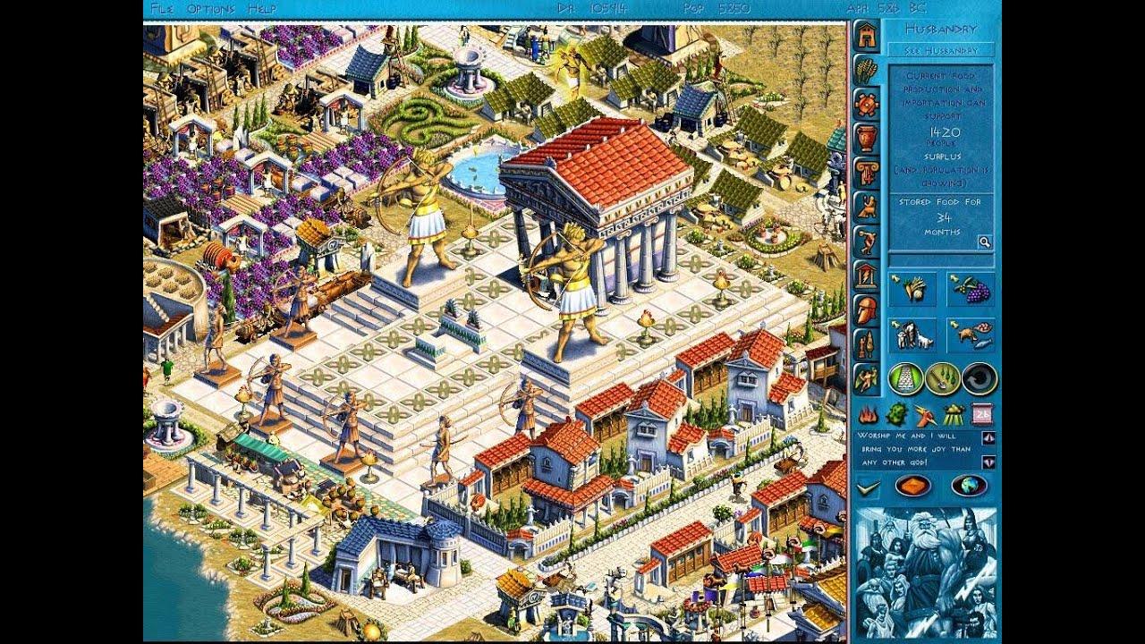 Zeus City Building Game