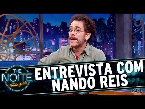 The Noite 260916 - Entrevista com Nando Reis
