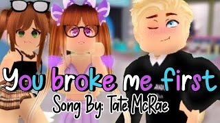 (REPOST) you broke me first.. |Cover By: Yumin| Royale High Music Video| TheGacha Kitten