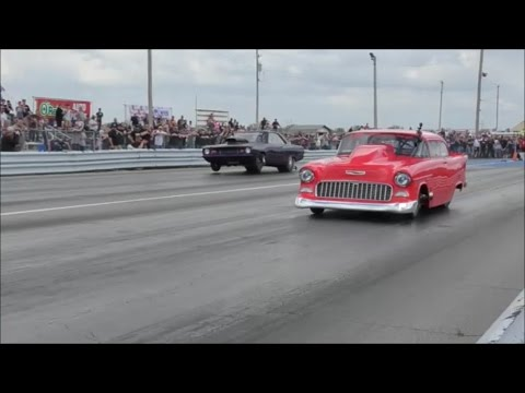 Street Outlaws Dominator vs The 55 at No Prep Mayhem
