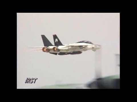 【daytime】VX-9 F-14B (UPGRADE) DEMO NAS Point MUGU Airshow 1999