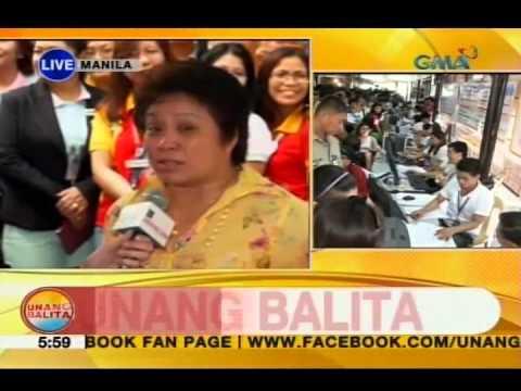 Rhea Santos, tinutukan ang huling araw ng filing ng Income Tax Returns sa BIR | Unang Hirit