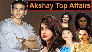 Akshay kumar Top Affairs Raveena Priyanka Rekha Shilpa Pooja batra PBH News